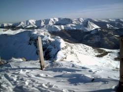 Le plomb et le Puy Griou vu du sommet du Puy Mary
