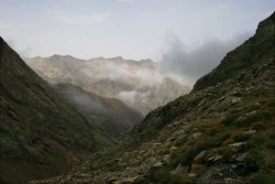 Le brouillard arrive