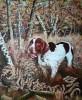 Chien de chasse(braque a l'arret)- 61 cm x 46 cm - (200 )