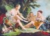 Copie:Diane de retour de la chasse de François Boucher- 130 cm x 97 cm - (1000 € )