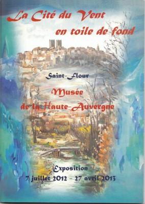 Couverture du catalogue d'exposition 2012