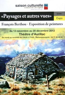 Affiche de l'expo du théâtre