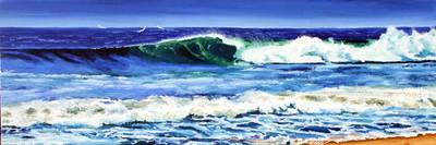 La vague: 180 cm x 60 cm