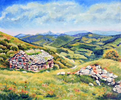 Buron vallée de Mandaille