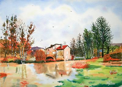 moulin de Caillac: Cantal