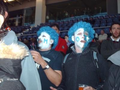 Des supporters Albériens de l'an passé..