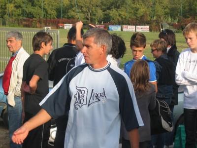 Alain Schurdevin l'un des 3 coaches de l'équipe