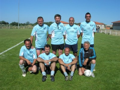 Les bleus de Saint Cyprien..
