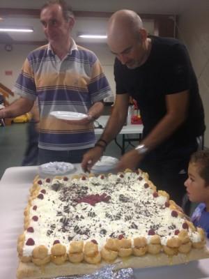 Le beau gâteau de François...
