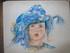 Enfant turban bleu
