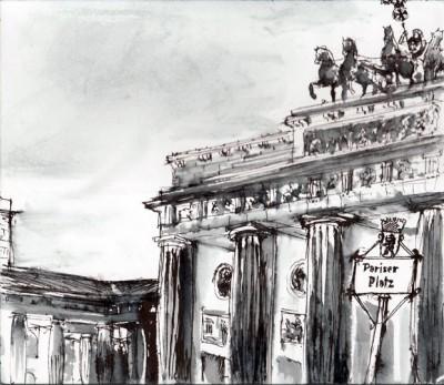 Porte de Brandenbourg / Brandenburger Tor