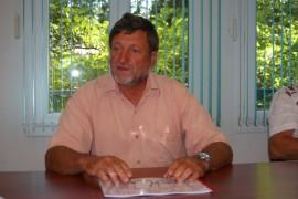 Alain Bouton, maire de Treilles