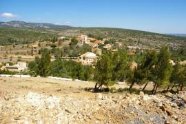 La Bade, sur les hauteurs du village de Treilles