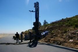 Forage à 80 mètres