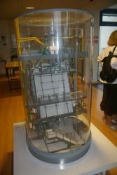 Salle d'exposition maquettes et panneaux informatifs