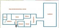 Plan du batiment Accueil et Réception