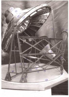 Maquette, modèle réduit du Four solaire Sorède 1900