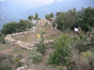 Site historique du four solaire Padre Himalaya Sorède 1900.