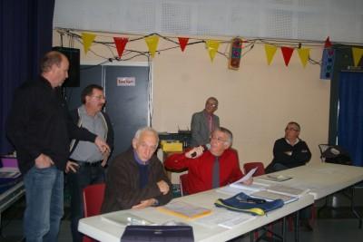 Prise de parole des représentants de l' Asso. Ferroniers Catalans