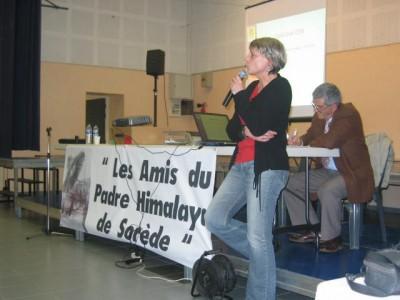 Claudie Macaluso à Sorède le 7 mARS 2006