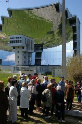 Les Amis du Padre Himalaya en visite au four solaire d'Odeillo (2007)