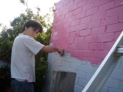 Math et la peinture rose