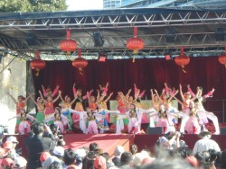 Danseuses chinoises
