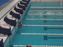 Dans l'eau olympique ...