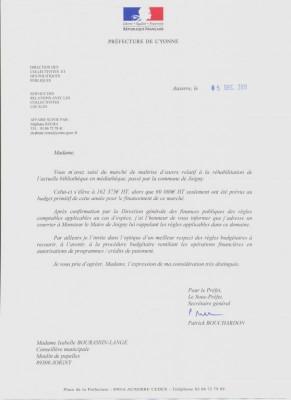 Modele lettre administrative sous-couvert