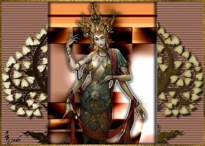 Aide Tutoriel 93 Divinités bouddhistes
