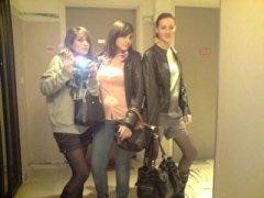 Mathilde, A-L et moi