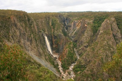 Wollomombi Falls : 260 mètres