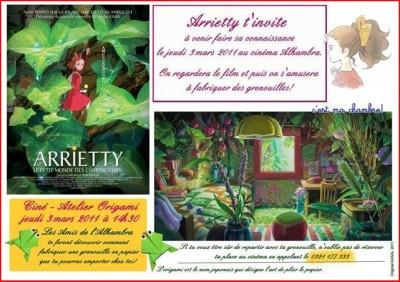 arrietty affiche
