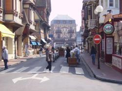 Etretat: centre ville