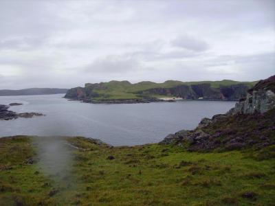 Première ballade pluvieuse sur la côte nord des Higlands