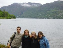 Pique nique près du Loch Ness