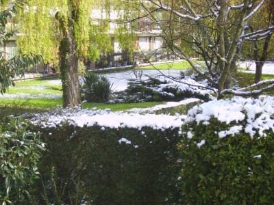 neige en avril