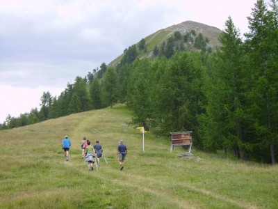 Col du Monte Bianco, 2171m