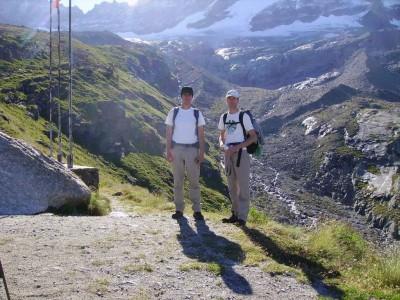 Avec Gaëtan au sommet