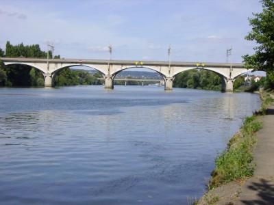 Ponts vers Sartrouville et Maison Laffitte