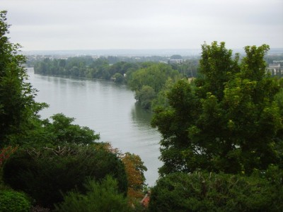 La Seine vue d'en haut