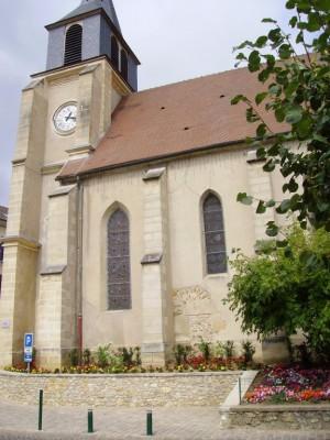 Eglise de Chanteloux les Vignes
