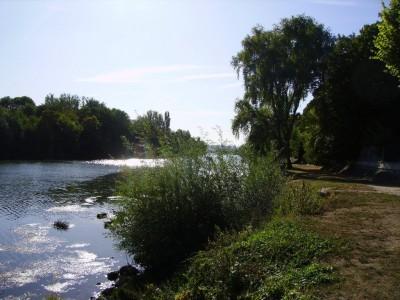 La Seine à Juziers