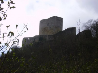 Ancien chateau fort de la Roche Guyon