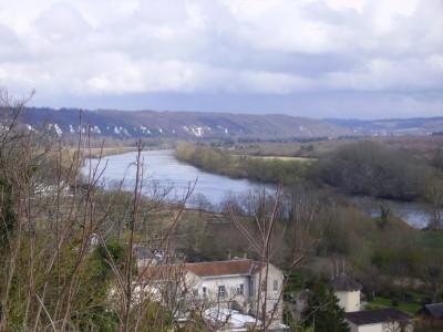La Seine vue de la Roche-Guyon