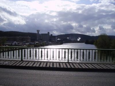 La Seine à Bonnières