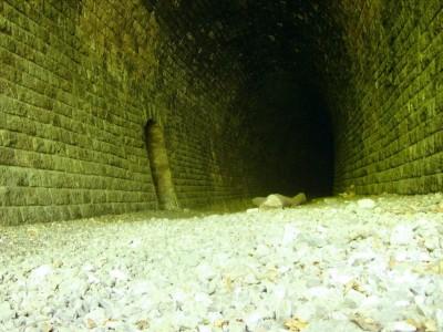 L'intérieur du tunnel dévoilé