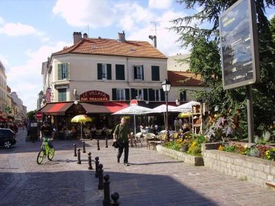 Le centre piétonnier de Créteil