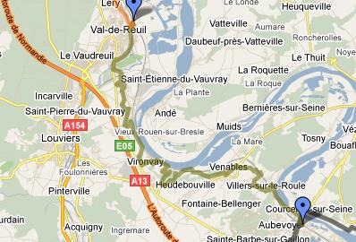 De Gaillon à Val de Reuil