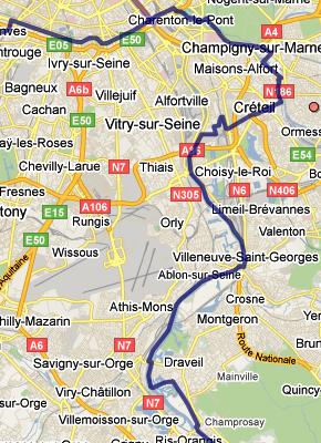 GR2 de Paris à Evry